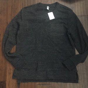 NWT Men's Alternative Gray Pullover Sweatshirt M
